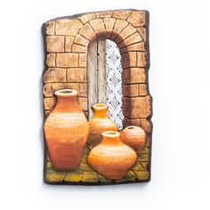 Clay Wall Art, Mix Media, Beaded Jewelry, Pasta, Diy, Painting, Ideas, Frames, African Crafts