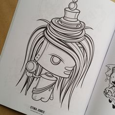 #DoodleForGood Colouring Book - Submission by Stina Jones