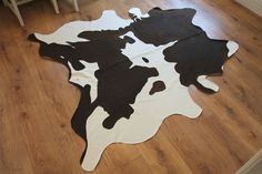 Faux Cowhide Rugs Black And White Rug