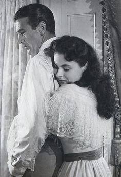 Gary Cooper and Ingrid Bergman - Saratoga Trunk
