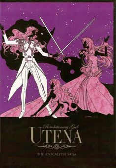 Utena- the story of a girl who became a prince to save the one she loves.