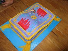 Magic Carpet Cake - Magic Carpet Cake for child's Princess Jasmine party.
