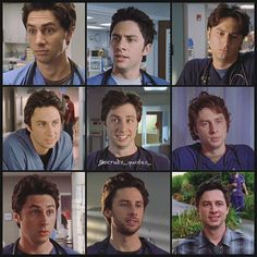 JD in each of the 9 seasons. Scrubs