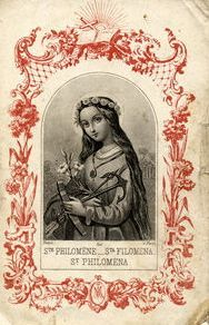 Virgin, Martyr and Wonder Worker I first learned about St. Philomena in high school.  Her story touched me, and I would ask for her intercession here and there over the years.  My devotion to St. P…