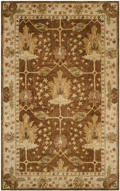 Safavieh Antiquity AT840B Brown / Beige Rug