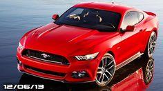 2015 Mustang NYC Reveal, New Corvette Z06, Lambo Cabrera Show, Lexus LF-...