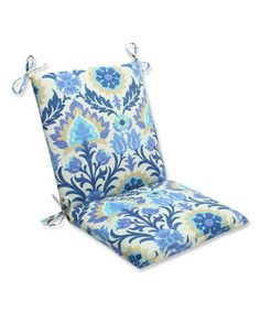 Another great find on #zulily! Azure Santa Maria Chair Cushion #zulilyfinds