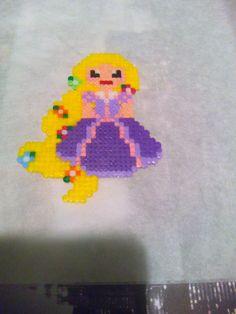 Rapunzel. Hama Beads Mini.