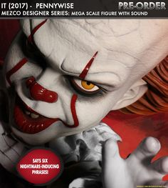 Pennywise the dancing clown Talking Figure Mezco Toyz Designer série MDS Elle