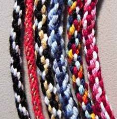 Kumihimo is a Japanese method for making braided cords. The traditional way to make these cords uses specialized equipment and can be fairly complicated....