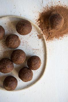 Nut Free Chocolate and Goji Bliss Balls