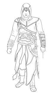 Ausmalbilder Assassin S Creed Zum Ausdrucken Sketches Art