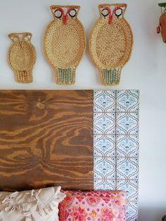 Bedroom Furniture Makeover Wood Diy Headboards 62 Ideas For 2019 Cheap Diy Headboard, Headboard Makeover, Unique Headboards, Bedroom Furniture Makeover, Diy Pallet Furniture, Handmade Furniture, Headboard Ideas, Woodworking Furniture, Bookshelf Headboard
