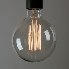 Filament light bulbs - to hang exposed over the kitchen bench Decor, Lamp, Light, Exclusive Lighting, Light Bulb, Decorative Light Bulbs, Beauty Store, Lights, Filament Bulb Lighting