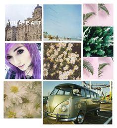"""on vacation"" by alvarado2019 ❤ liked on Polyvore featuring Polaroid"