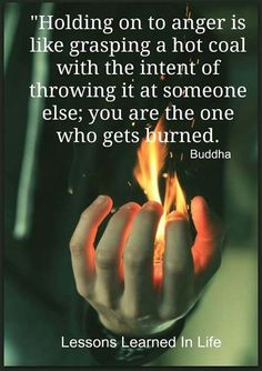 You're the one who gets burned.