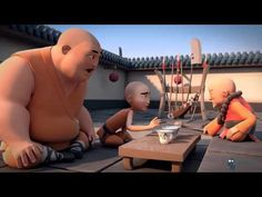 HolyMonks (HD) Funny Animated Film Feat.in Sketchozine.com V.1+8 By DigitalRebel Studio - YouTube
