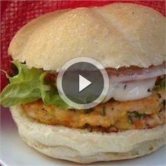 Yummy Lemon Salmon Burgers - Allrecipes.com. Serve on 2 pieces of lettuce instead of bun.