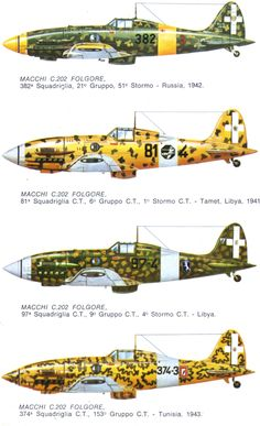 Arguably the finest fighter of WWII. Air Force Aircraft, Ww2 Aircraft, Fighter Aircraft, Military Aircraft, Luftwaffe, Reggio, Italian Army, Air Fighter, Aircraft Painting