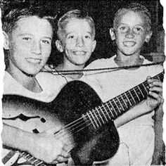 Baby Bee Gees!!!! When they were first starting out in Australia.