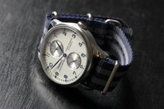 Fancy - Parnis Chronometer Watch with Nato Strap