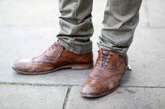 i need new shoes Dapper Gentleman, Gentleman Style, Dapper Man, Wingtip Shoes, Brogues, Sharp Dressed Man, Well Dressed Men, Men Dress, Dress Shoes