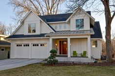 Organic Modern - farmhouse - Exterior - Minneapolis - REFINED LLC