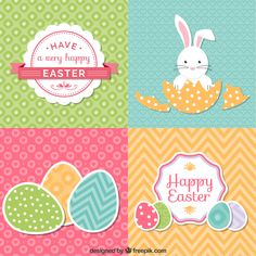 Páscoa + Easter + Pattern  http://br.freepik.com/