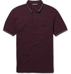 Dolce & GabbanaCotton-Piqué Polo Shirt