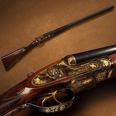 Princess Dianas Shotgun - Westley Richards side-by-side 12 gauge.
