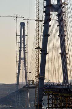 Bridge to Russky Island (Russia, Vladivostok) 28.04.2012