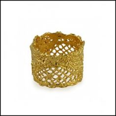 Nellie 24k gold ring | Gilded Lace