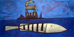 'Zebra Fish' is an original Acrylic On Canvas artwork by David Kuijers. Canvas Artwork, Art, David, Canvas