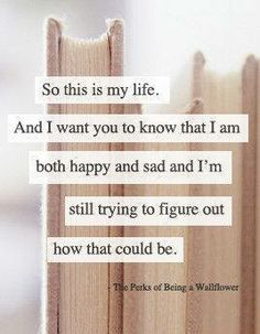 The Perks of Being a Wallflower - Eloquent, beautiful and just so heart-wrenching.