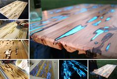 This Coffee Table Glows In The Dark: Here's How!