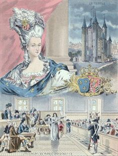 Image Gallery - Marie Antoinette pictures: paintings and other images of Marie Antoinette, Queen of France. Horrible Histories, Paris Match, French History, Art Journal Techniques, Mystery Of History, French Revolution, World History, Family History, Book Art