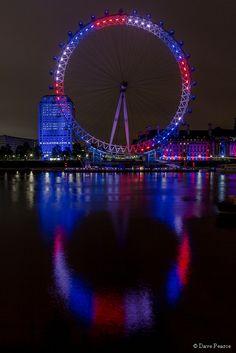 London Eye at Night, UK