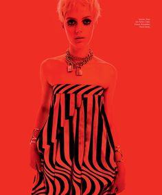 factory girl: esther heesch by xevi muntane for harper's bazaar mexico and latin america november 2014