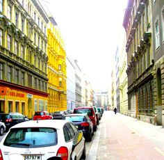 Ongoing Street by MushroomBrain.deviantart.com Vienna, Street View, Deviantart