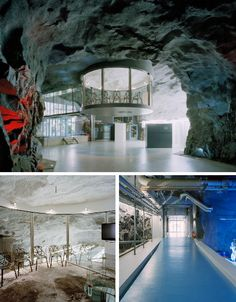 Deep underground in a former anti-atomic shelter is the White Mountain Office - a Swiss internet service provider with a serious case of Blofeld-envy. (Or a good reason to fear customer wrath.)