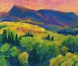 Abstract mountain paintings Art - Bing Images