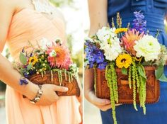 purse bouquets - cool new trend or not?