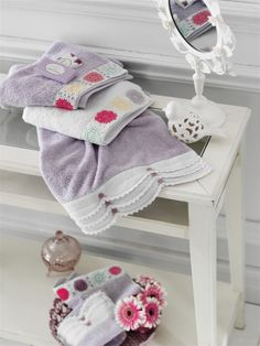 Bathroom ideas #englishhome #towel #homeideas