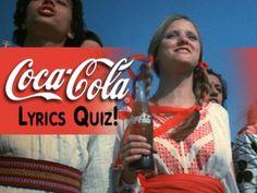 Quiz: Can You Remember This Coca-Cola Jingle? Cola Song, Tv Show Quizzes, Online Quizzes, Tv Theme Songs, Coca Cola Ad, Tv Themes, Personality Quizzes, Playbuzz