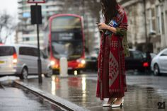 Style Takeaways from The Streets of London | Scarf Man Repeller