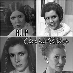 I can't believe it!!! Rip Carrie Fisher, our beloved Princess Leia. We love u. ❤ #Ripcarriefisher #CarrieFisher #princessleia
