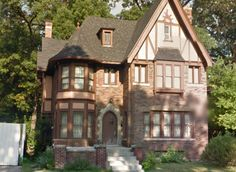 English Tudor style home in the University District near the University of Detroit Mercy in Detroit, MI