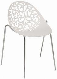 Aurora tuoli, valkoinen