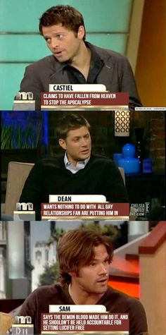 Supernatural talk show xD