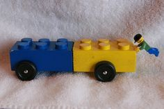 Lego Pinewood Derby Car.  Keep clicking on images, there are lots of car ideas!